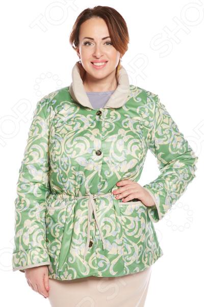 Куртка Гранд Гром «Радостный день». Цвет: зеленый