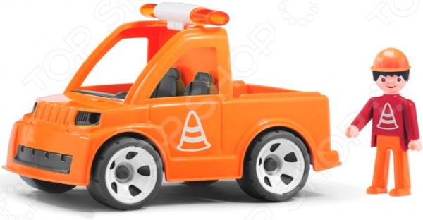 Машинка игровая EFKO «Автомобиль дорожной службы и водитель»