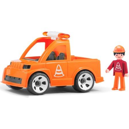 Купить Машинка игровая EFKO «Автомобиль дорожной службы и водитель»