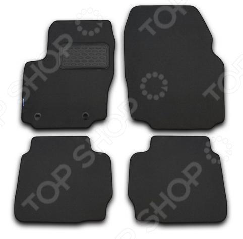 Комплект ковриков в салон автомобиля Novline-Autofamily Audi Q7 2010. Цвет: серый novline nlc 04 16 211k audi q7 2006