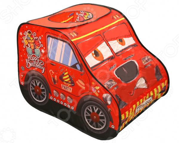 Палатка игровая Наша Игрушка «Машина» игрушки для улицы игровая палатка с мячиками 100 шт calida вилла 85х85х110см