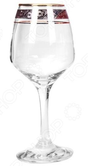 Набор фужеров Гусь Хрустальный «Изабелла. Флорис» набор стаканов со стойкой гусь хрустальный флорис