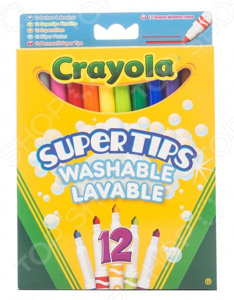 Набор фломастеров Crayola Supertips фломастеры crayola 12 цветов 58 8329
