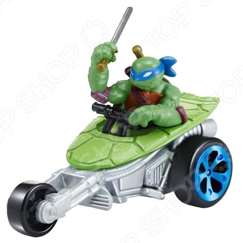 Машинка игрушечная с фигуркой Nickelodeon «Лео на Вездеходе»