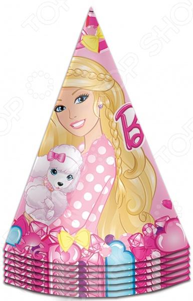 Набор колпаков праздничных Росмэн «Барби»