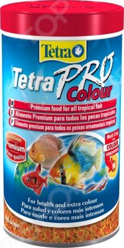 Корм для всех видов декоративных рыб Tetra Pro Color Crisps tetra minpro crisps