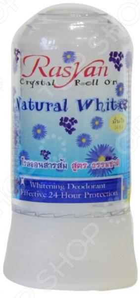 Дезодорант-стик для нормальной и чувствительной кожи Rasyan Crystal Natural White