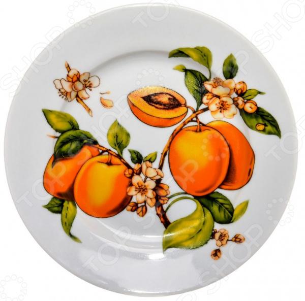 Тарелка десертная Дулевский Фарфор «Абрикосы»