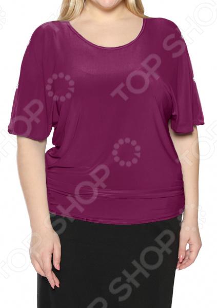 Блуза Pretty Woman «Фруктовый заряд». Цвет: малиновый