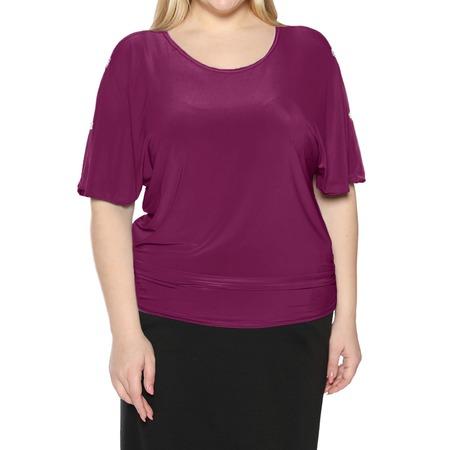 Купить Блуза Pretty Woman «Фруктовый заряд». Цвет: малиновый