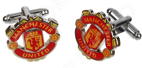 Запонки Mitya Veselkov Manchester United запонки mitya veselkov пули двухцветные