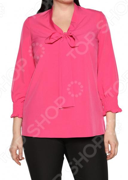 Блуза Blagof «Нежные очертания». Цвет: фуксия блуза blagof блуза мерси цвет персиковый