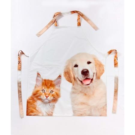 Купить Фартук Сирень «Кот и пес»