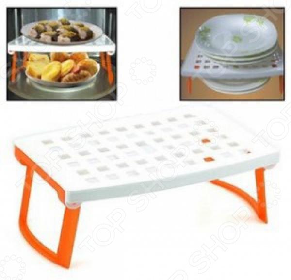 Подставка для микроволновой печи Ruges «Плюстарелка» подставка для микроволновой печи ругес плюстарелка цвет оранжевый белый