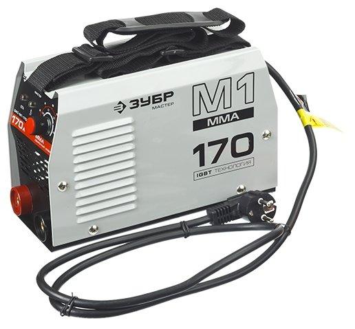 Аппарат инверторный дуговой сварки Зубр ЗАС-М1-170