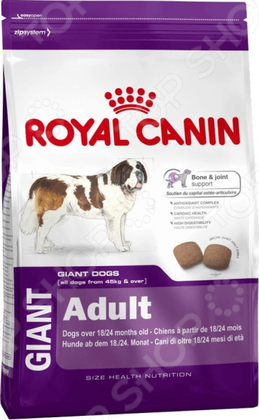 Корм сухой для собак гигантских пород Royal Canin Giant Adult