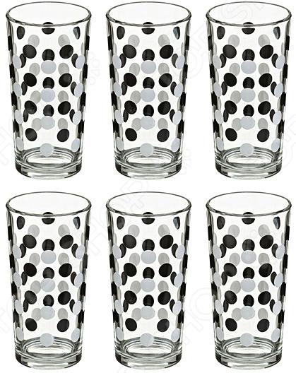 Набор стаканов для сока «Горох» 381-641