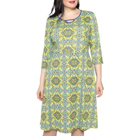Купить Платье Лауме-стиль «Звезда моя». Цвет: оливковый