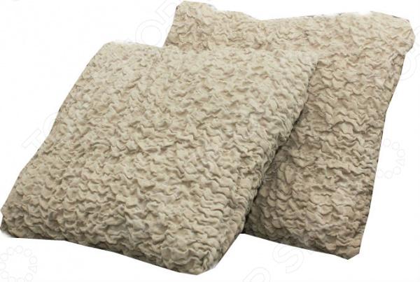 Zakazat.ru: Натяжной чехол на подушку Еврочехол «Модерн. Какао»