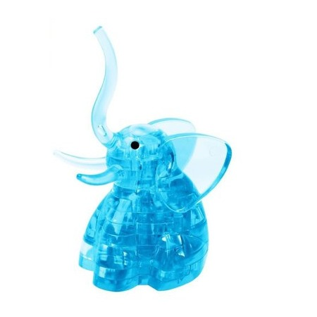 Купить Кристальный пазл 3D Город игр «Слоник»