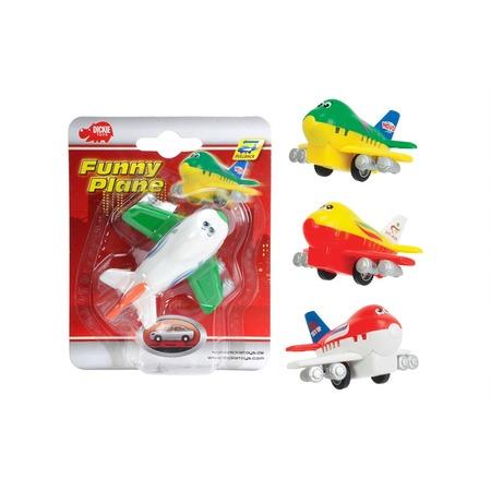 Купить Самолет инерционный Dickie «Веселый самолет» 3345475. В ассортименте
