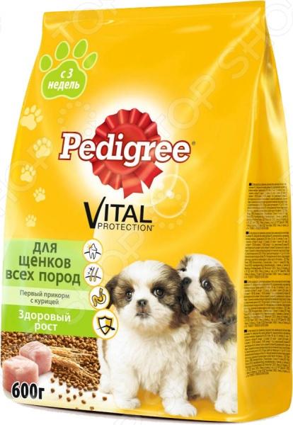 Корм сухой для щенков Pedigree Vital PROTECTION «Первый прикорм» с курицей