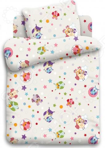 Детский комплект постельного белья Непоседа «Многоцветие» детский комплект постельного белья непоседа на рыбалке