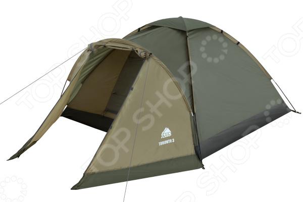 Палатка Trek Planet Toronto 3 палатка трехместная trek planet toronto 3 цвет темно зеленый оливковый
