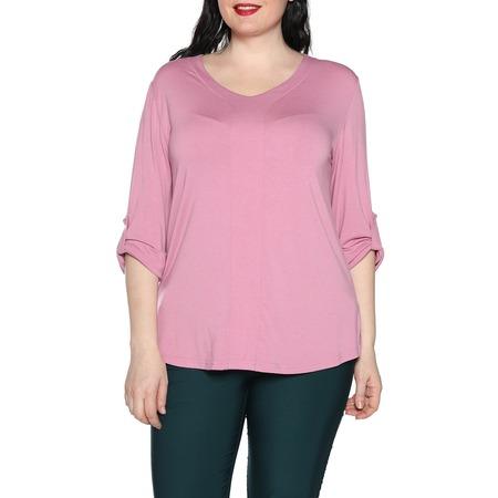 Купить Блуза Kaproni «Праздник души». Цвет: розовый