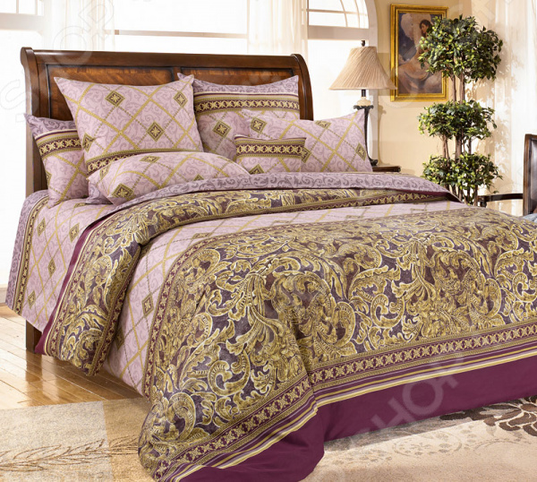 Комплект постельного белья Королевское Искушение «Бархат». 1,5-спальный
