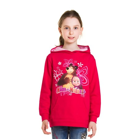 Купить Толстовка для девочки «Маша и Медведь. Неразлучные друзья»