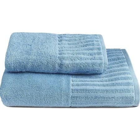 Купить Комплект из 2-х махровых полотенец BONITA «Голубика»