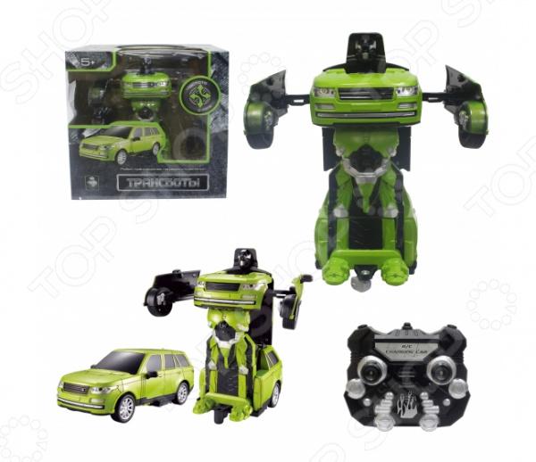 Игрушка радиоуправляемая 1 Toy «Робот-трансформер. Трансботы. Джип»