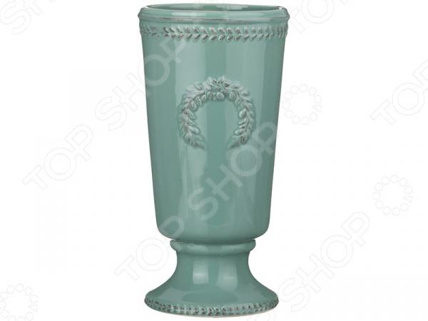 Ваза декоративная «Античный венок» 232-156 вазы pavone ваза орхидея