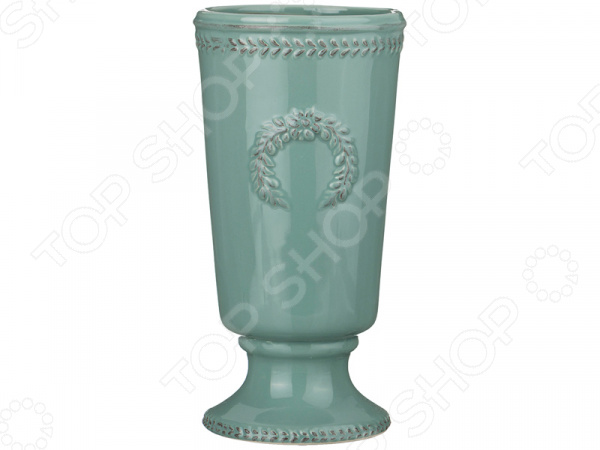 Ваза декоративная «Античный венок» 232-156 вазы pavone ваза камелия