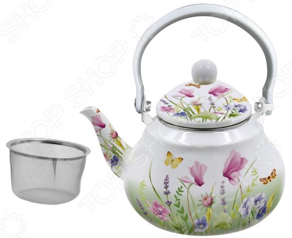 Чайник эмалированный Appetite «Примавера» FT11-PR