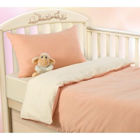 Купить Ясельный комплект постельного белья ТексДизайн «Нежный персик»