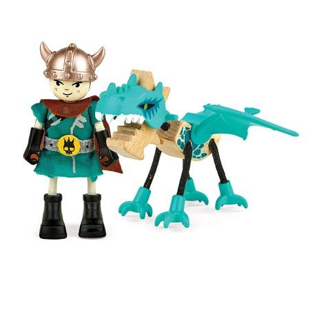 Купить Набор фигурок Hape «Укротитель и дракон»
