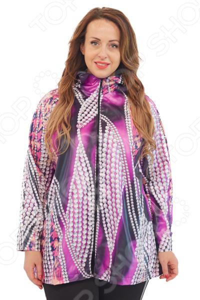 Куртка Лауме-Лайн «Леди Осень». Цвет: сиреневый
