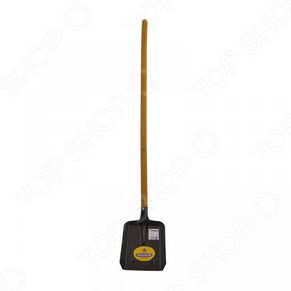 Лопата совковая Brigadier 87017 лопата штыковая усиленная с деревянной рукояткой brigadier 88104