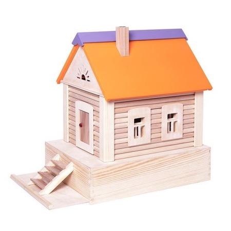Купить Конструктор деревянный PAREMO «Избушка»