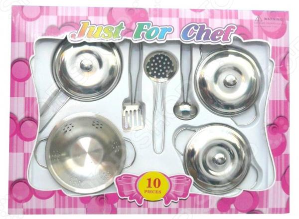 Набор посуды игрушечный 1 Toy Т58761 набор посуды игрушечный 1 toy чайный сервиз