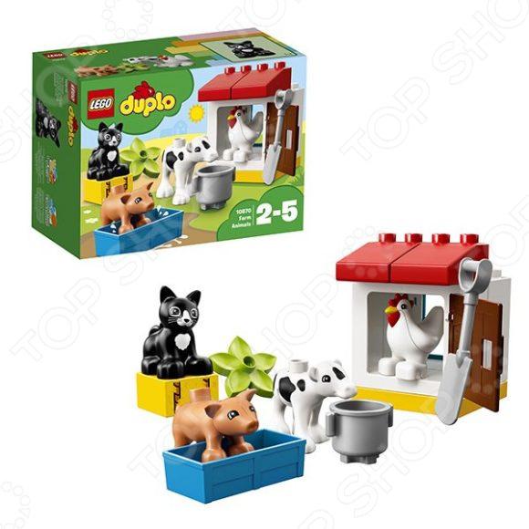 Конструктор для малышей LEGO «Ферма: домашние животные»