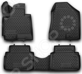 Комплект 3D ковриков в салон автомобиля Novline-Autofamily HYUNDAI ix35 2010