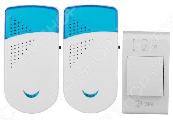 Звонок беспроводной Эра Twin R цифровой led 32 мелодия песни беспроводной дверной звонок с дистанционным управлением музыкальные номера
