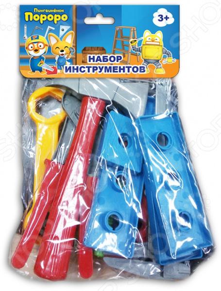 Набор инструментов игровой 1 Toy с хедером «Пингвиненок Пороро» Т58826 Набор инструментов игровой 1 Toy с хедером «Пингвиненок Пороро» Т58826 /