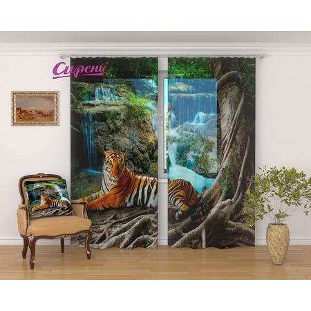 Купить Фототюль Сирень «Индийский тигр»
