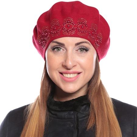 Купить Берет LORICCI «Капельки дождя»