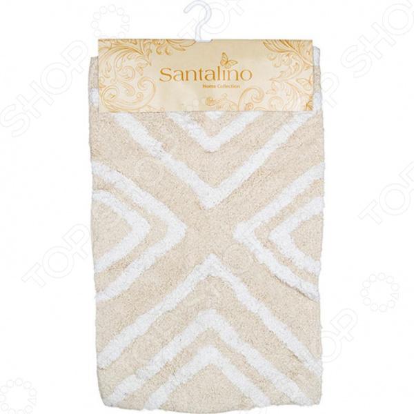 Коврик для ванной комнаты Santalino «Геометрия» 852-005 коврик для ванной арти м 50х80 см розанна