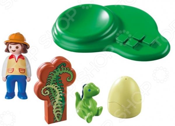 Конструктор для малыша Playmobil «Девочка и яйцо динозавра»